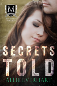 Secrets Told, a novel by Allie Everhart